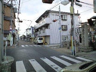 石津太神社前