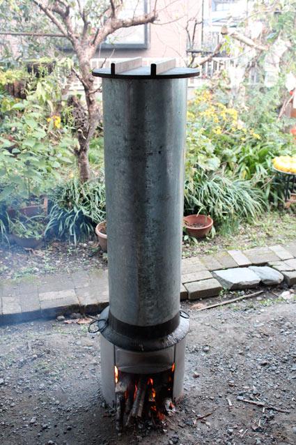 手作り蒸し器