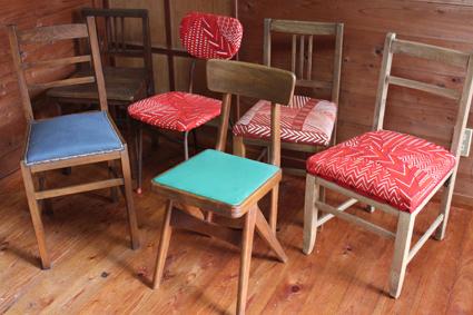 チョイ古の椅子たち
