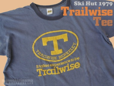 モノシリ沼 THE SKI HUT, Trailwise Russell Athletic TEE-1, 555nat.com