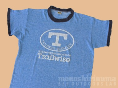 モノシリ沼 THE SKI HUT, Trailwise Russell Athletic TEE-2, 555nat.com
