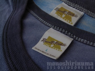 モノシリ沼 THE SKI HUT, Trailwise Russell Athletic TEE-3, 555nat.com