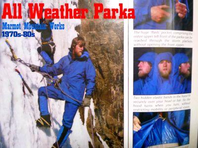 モノシリ沼 555nat.com アウトドア温故知新 1970s-80s Marmot Mountain Works All Weather Parka (1)