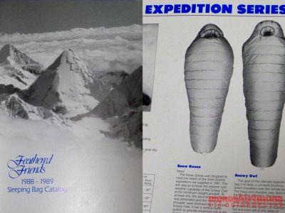 モノシリ沼 555nat.com 1970-80sアウトドア温故知新 FEATHERED FRIENDS 1988 EXPEDITION SLEEPING BAG フェザーフレンズ・エクスペディション・スリーピングバッグ(2)