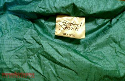 モノシリ沼 555nat.com 1970-80sアウトドア温故知新 FEATHERED FRIENDS 1988 EXPEDITION SLEEPING BAG フェザーフレンズ・エクスペディション・スリーピングバッグ(5)
