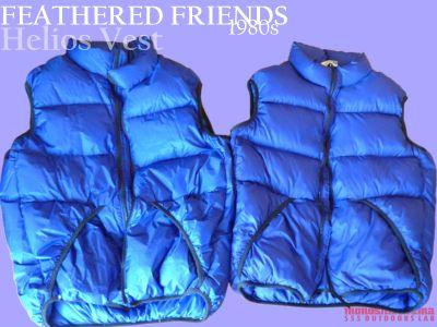 モノシリ沼 555nat.com 1970-80sアウトドア温故知新 立体ダウンベストの登場。FEATHERED FRIENDS社Helios Vest (1)