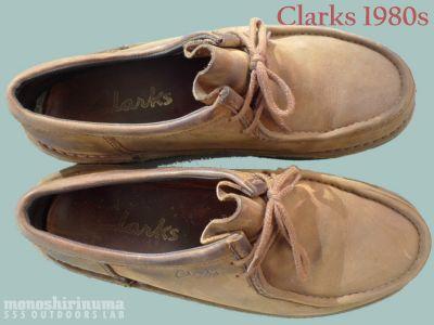 モノシリ沼 555nat.com 1970-80sアウトドア温故知新 経年劣化・・・意外な別れ。Clarks クラークスの終焉(1)
