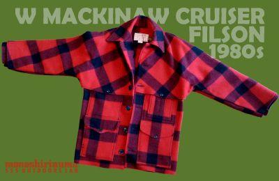 モノシリ沼 555nat.com 1970-80sアウトドア温故知新 FILSON W MACKINAW CRUISER(1)