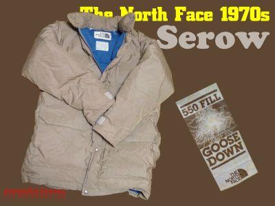 モノシリ沼 555nat.com 1970-80sアウトドア温故知新 The North Face 1970s Serow ノースフェイス・セロウパーカ(1)