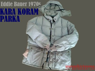 モノシリ沼 1970s-80sアウトドア温故知新 555nat.com die Bauer Heavy-duty KARA KORAM PARKA 01