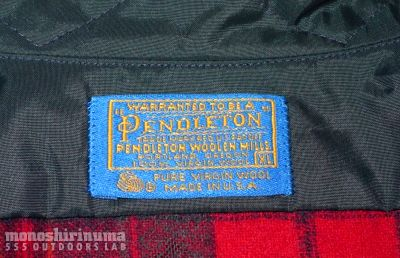 モノシリ沼 555nat.com 1970s-80sアウトドア温故知新 1970s Pendleton Wool Shirts ペンドルトン100%ウール (2)