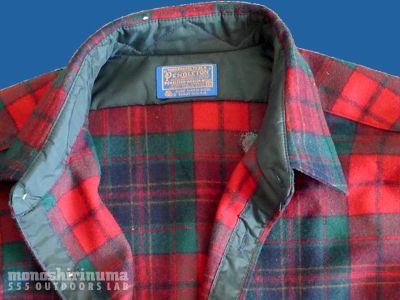 モノシリ沼 555nat.com 1970s-80sアウトドア温故知新 1970s Pendleton Wool Shirts ペンドルトン100%ウール (3)