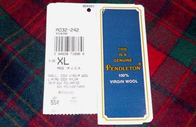 モノシリ沼 555nat.com 1970s-80sアウトドア温故知新 1970s Pendleton Wool Shirts ペンドルトン100%ウール (4)