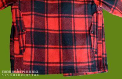モノシリ沼 555nat.com 1970s-80sアウトドア温故知新 ウールシャツの呪い? PENDLETON製シングルマッキノウ(3)