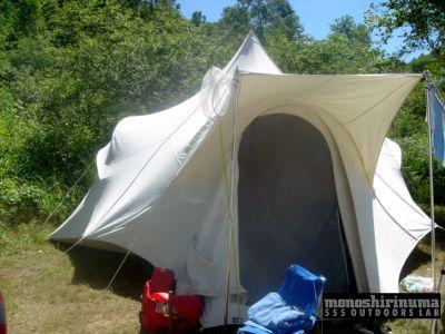 モノシリ沼 555nat.com 1970s-80sアウトドア温故知新 Moss Tent 1980s Cotton Tent OPTIMUM 200 モス・オプティマム・コットンテント(5)