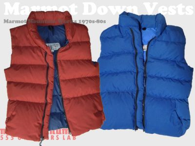 モノシリ沼 555nat.com 1970s-80sアウトドア温故知新 Marmot Mountain Works 1970s Down Vest 1