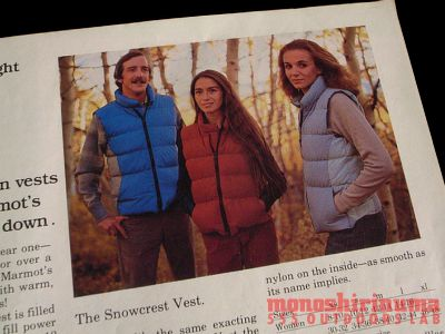 モノシリ沼 555nat.com 1970s-80sアウトドア温故知新 Marmot Mountain Works 1970s Down Vest 10