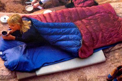 モノシリ沼 555nat.com 1970-80sアウトドア温故知新 DOUBLING SHEET COUPLET & GROUSE, Marmot Mountain Works マーモット・マウンテンワークス・カプレット(7)