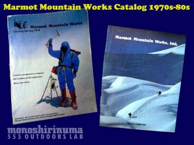 モノシリ沼アウトドア温故知新 555nat.com marmot mountain works マーモットマウンテンワークス 1970s-80sカタログ(1)
