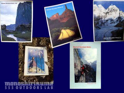 モノシリ沼アウトドア温故知新 555nat.com marmot mountain works マーモットマウンテンワークス 1970s-80sカタログ(2)