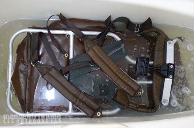 モノシリ沼 555nat.com 1970s-80sアウトドア温故知新 フレームパックの洗濯。The North Face BACK MAGIC(3)