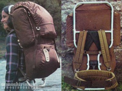 モノシリ沼 555nat.com 1970s-80sアウトドア温故知新 フレームパックの洗濯。The North Face BACK MAGIC(5)