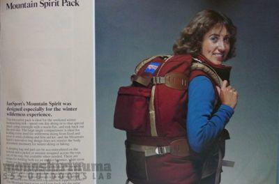 モノシリ沼 1970s-80sアウトドア温故知新 555nat.com ソフトパックの洗濯 JANSPORT MOUNTAIN SPIRIT 1・2(3)