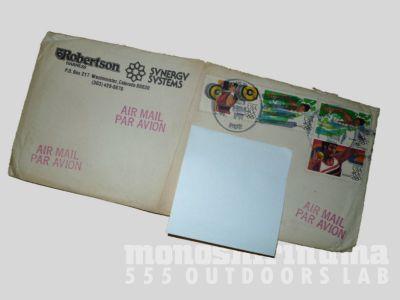 モノシリ沼 555nat.com 1970-80sアウトドア温故知新 synergy works シナジーワークスからの手紙