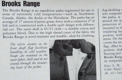 モノシリ沼 555nat.com 1970-80sアウトドア温故知新 The North Face Brooks Range (2)