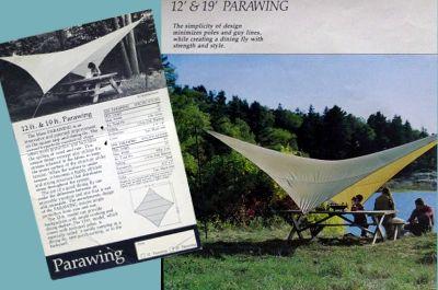 モノシリ沼 555nat.com 1970-80sアウトドア温故知新 1980s 日本の難民キャンパーの救世主。モス パラウィング MOSS PARAWIING (2)