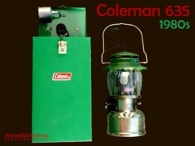 モノシリ沼 555nat.com 1970-80sアウトドア温故知新 Coleman 635ランタン (1)