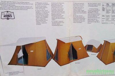 モノシリ沼 555nat.com 1970-80sアウトドア温故知新 幻のコットンテント入門 Coleman Canvas Products カタログ  (2)