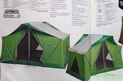 モノシリ沼 555nat.com 1970-80sアウトドア温故知新 幻のコットンテント入門 Coleman Canvas Products カタログ  (3)