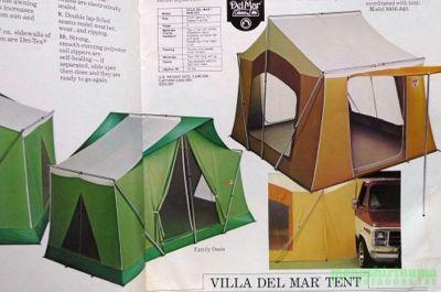 モノシリ沼 555nat.com 1970-80sアウトドア温故知新 幻のコットンテント入門 Coleman Canvas Products カタログ  (4)