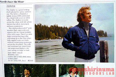 モノシリ沼 555nat.com 1970-80sアウトドア温故知新 そよ風に誘われて ZEPHYR The North Face (6)