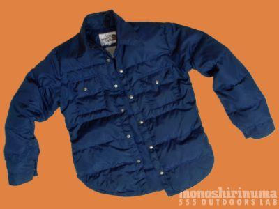 モノシリ沼 555nat.com 1970-80sアウトドア温故知新 ノースフェイス 1976-7 スタッフド・シャツ The North Face Stuffed Shirts(2)