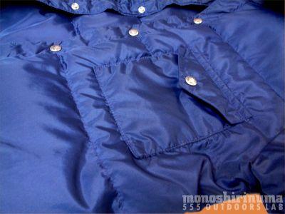 モノシリ沼 555nat.com 1970-80sアウトドア温故知新 ノースフェイス 1976-7 スタッフド・シャツ The North Face Stuffed Shirts(5)