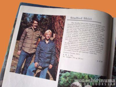 モノシリ沼 555nat.com 1970-80sアウトドア温故知新 ノースフェイス 1976-7 スタッフド・シャツ The North Face Stuffed Shirts(7)