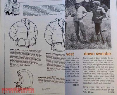 モノシリ沼 555nat.com 1970-80sアウトドア温故知新 1970-80s Sierra Designs SIERRA PARKA シェラデザイン「シェラパーカ」 (6)