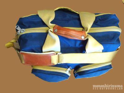 モノシリ沼 555nat.com monoshirinuma 1970-1980s アウトドア温故知新 ノースフェイス1980年代キャリーオンバッグ 1980s The North Face Carry On Bag (2)