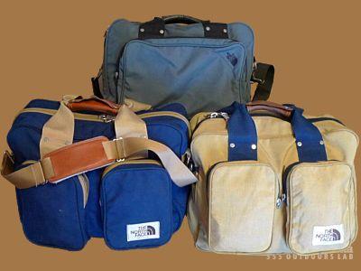 モノシリ沼 555nat.com monoshirinuma 1970-1980s アウトドア温故知新 ノースフェイス1980年代キャリーオンバッグ 1980s The North Face Carry On Bag (5)