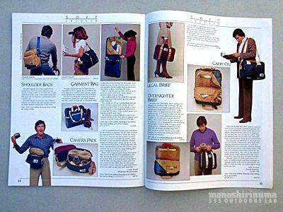モノシリ沼 555nat.com monoshirinuma 1970-1980s アウトドア温故知新 ノースフェイス1980年代キャリーオンバッグ 1980s The North Face Carry On Bag (7)