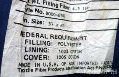 モノシリ沼 555nat.com monoshirinuma 1970-1980s アウトドア温故知新 COSTCOで購入。Coleman レクタンギュラースリーピングバッグ Made in USA (5)