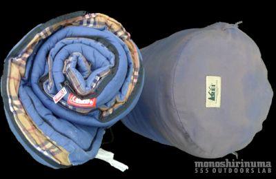 モノシリ沼 555nat.com monoshirinuma 1970-1980s アウトドア温故知新 COSTCOで購入。Coleman レクタンギュラースリーピングバッグ Made in USA (7)