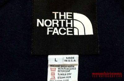 モノシリ沼 555nat.com monoshirinuma 1970-1980s アウトドア温故知新 The North Face MOUNTAIN JACKET&MOUNTAI PANTS Made in USA 1980年代ノースフェイス・マウンテンジャケット&パンツ(4)