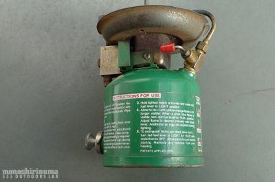 モノシリ沼 555nat.com monoshirinuma 1970-1980s アウトドア温故知新 Made in USA コールマン・ピーク1 COLEMAN PEAK 1 MODEL 576(4)