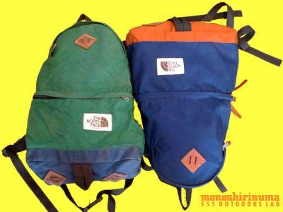 モノシリ沼 555nat.com monoshirinuma 1970-1980s アウトドア温故知新 Made in USA The North Face 1970s-80s Day Pack ノースフェイス・デイパック(4)