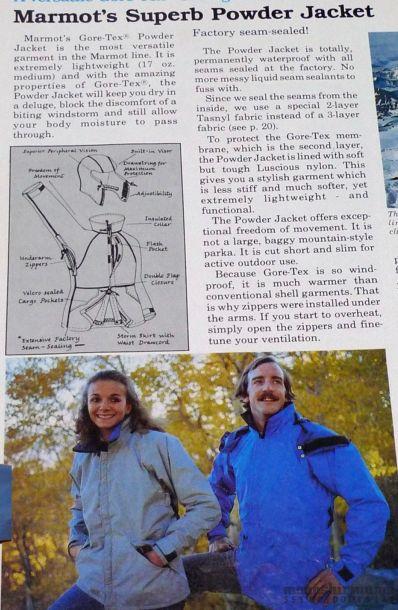 モノシリ沼 555nat.com monoshirinuma 1970-1980s アウトドア温故知新 Made in USA マーモットマウンテンワークス Marmot Mountain Works POWDER JACKET(9)