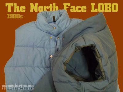 モノシリ沼 555nat.com monoshirinuma 1970-1980s アウトドア温故知新 Made in USA The North Face 1980s LOBO ノースフェイス・ベスト Hollofil �(1)