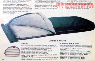 モノシリ沼 555nat.com monoshirinuma 1970-1980s アウトドア温故知新 Made in USA Eddie Bauer HEAVYDUTY SLEEPING BAG(3)